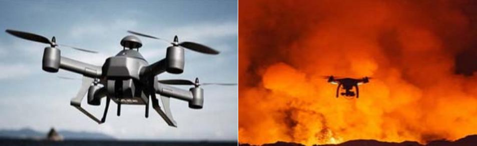 无人机消防系统
