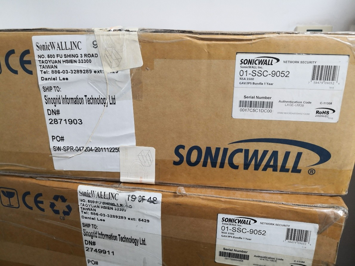 sonicwall NAS3500