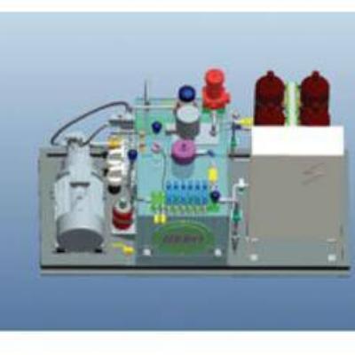 实验室液压加载管路系统