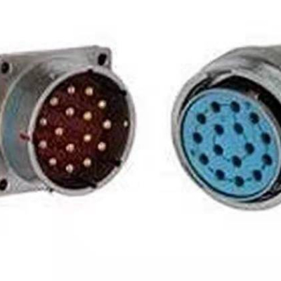 XCE系列圆形电连接器 插头/方盘插座/螺母紧固式