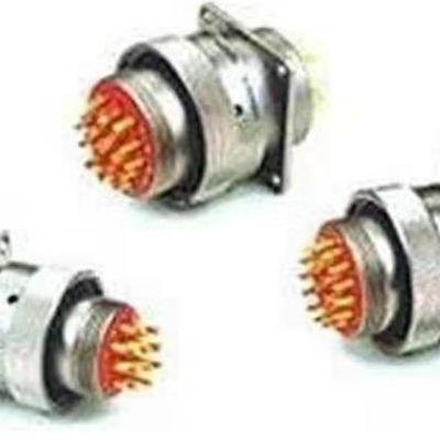 CXCH-01系列圆形电连接器 线簧式焊接船用 插头/插座